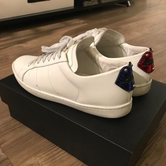saint laurent sneakers lips